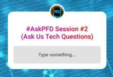 #AskPFD Session #2