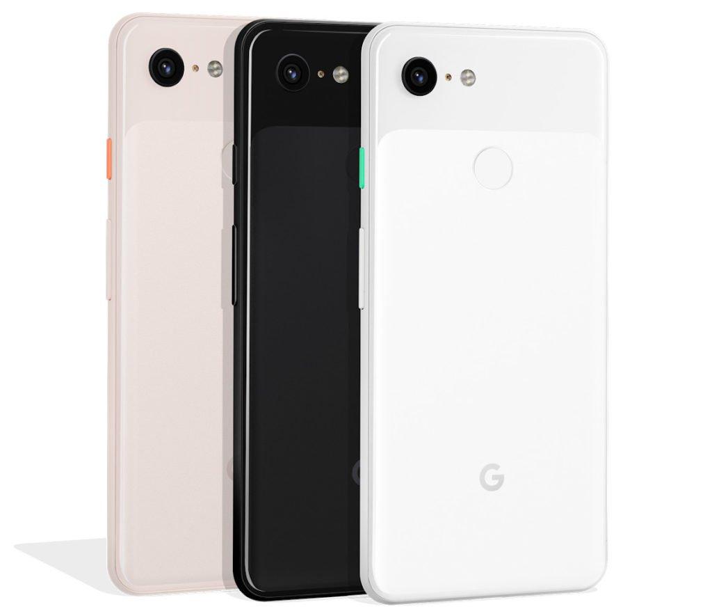 Google Pixel 3 Back