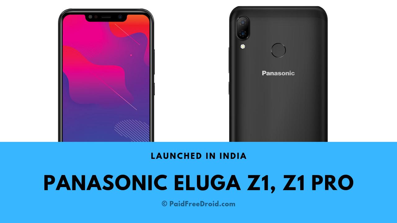 Panasonic Eluga Z1, Eluga Z1 Pro