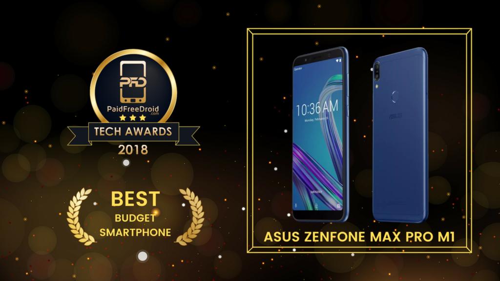 Best Budget Smartphone - Asus Zenfone Max Pro M1