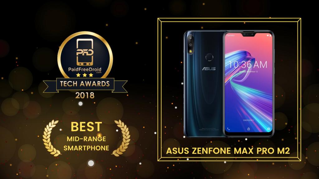Best Mid-Range Smartphone - Asus Zenfone Max Pro M2