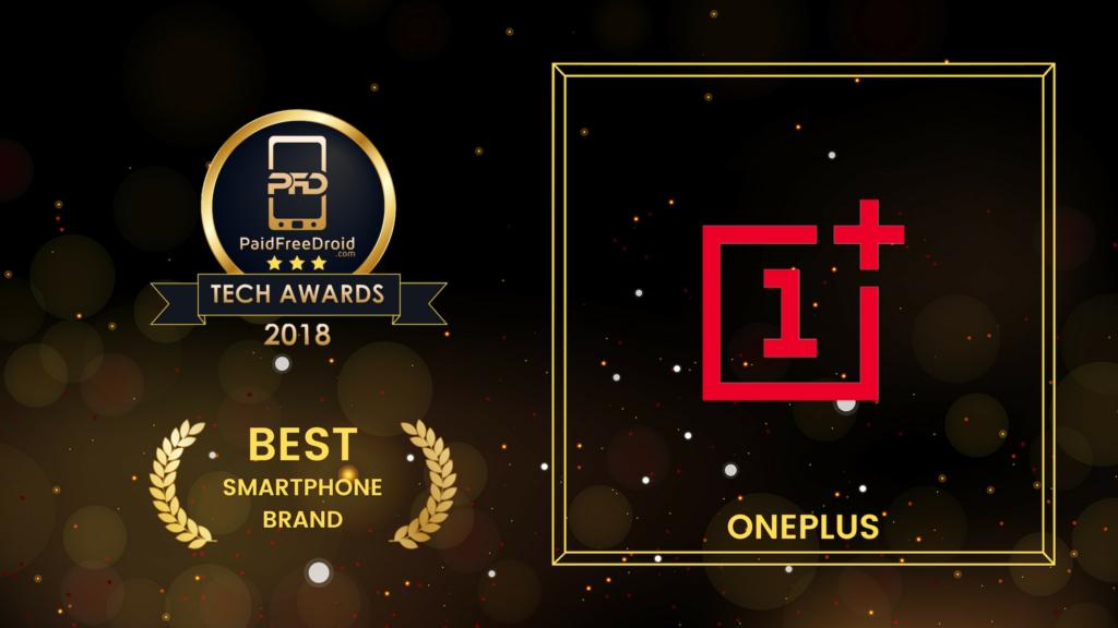 Best Smartphone Brand - OnePlus