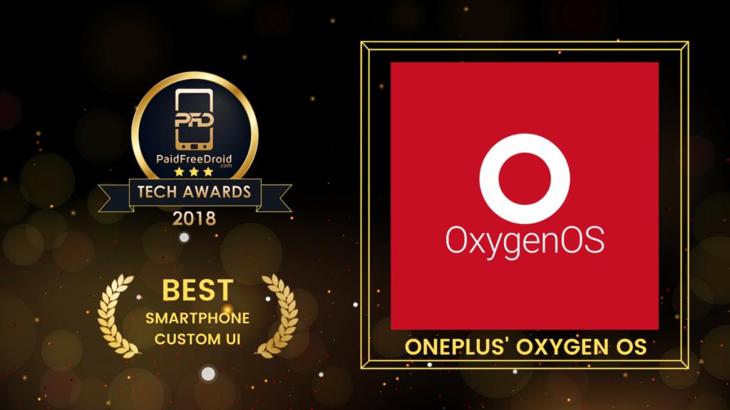 Best Smartphone Custom UI - OnePlus OxygenOS