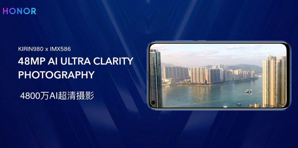 Honor V20 48MP Camera