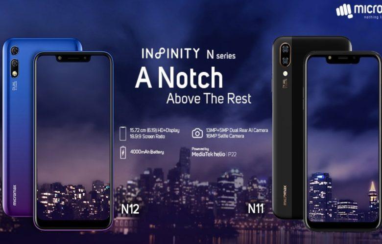 Micromax Infinity N11 Infinity N12