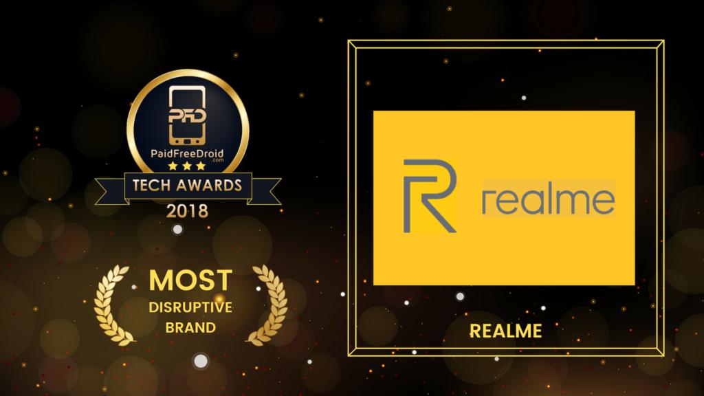 Most Disruptive Brand - Realme