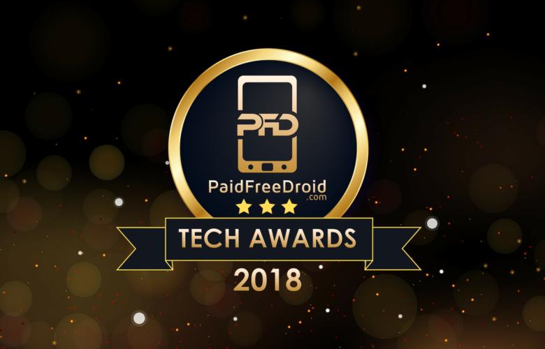 PaidFreeDroid Tech Awards 2018