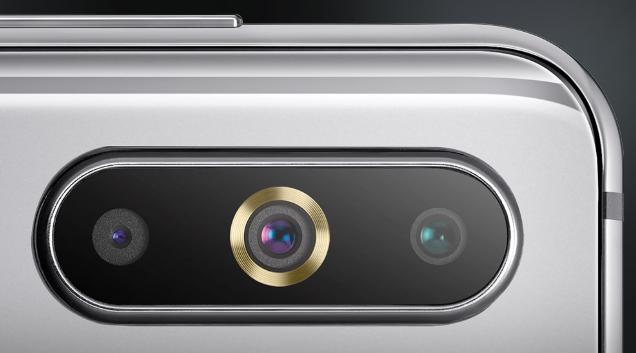 Samsung Galaxy A8s Cameras