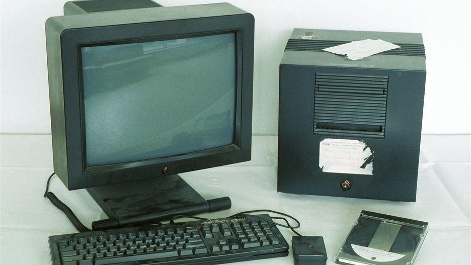 Next Cube - First Web Server