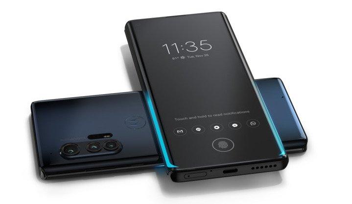 Motorola Edge Plus Wireless Reverse Charging