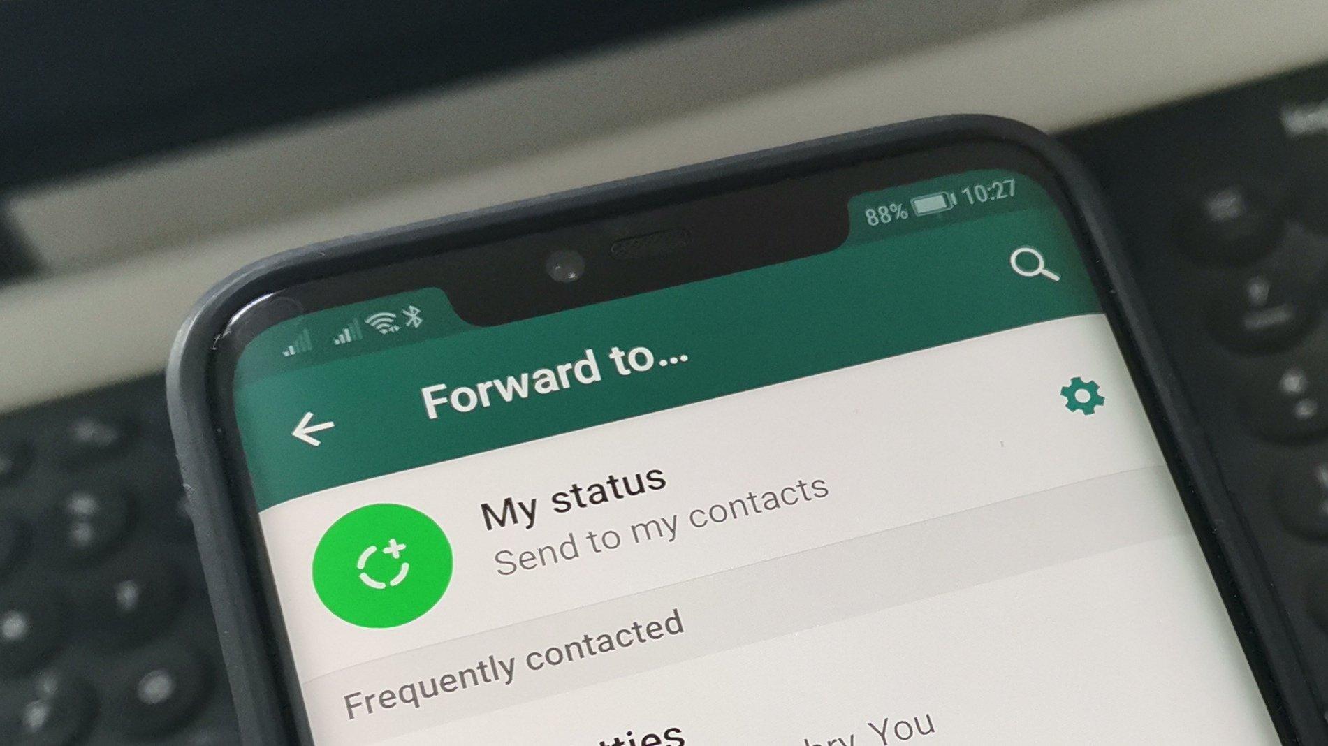 WhatsApp Forward Limit 1 Message