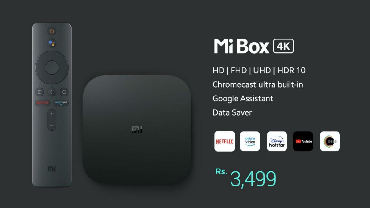 Mi Box 4K Launched