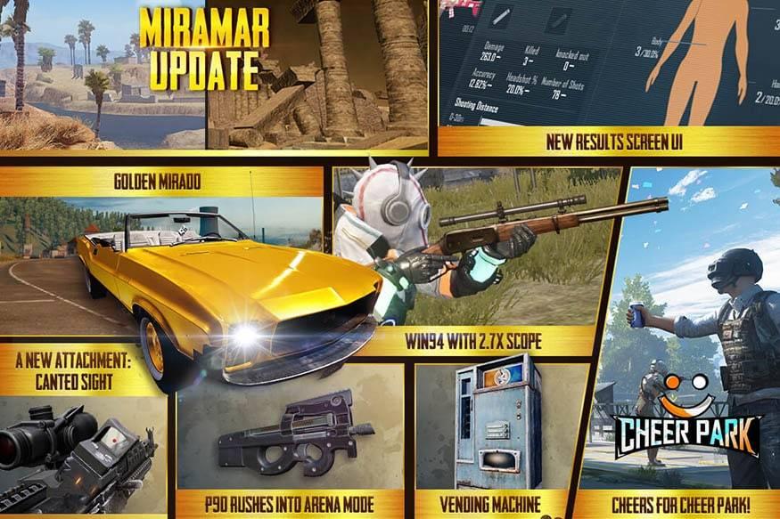 PUBG Mobile 0.18.0 update features