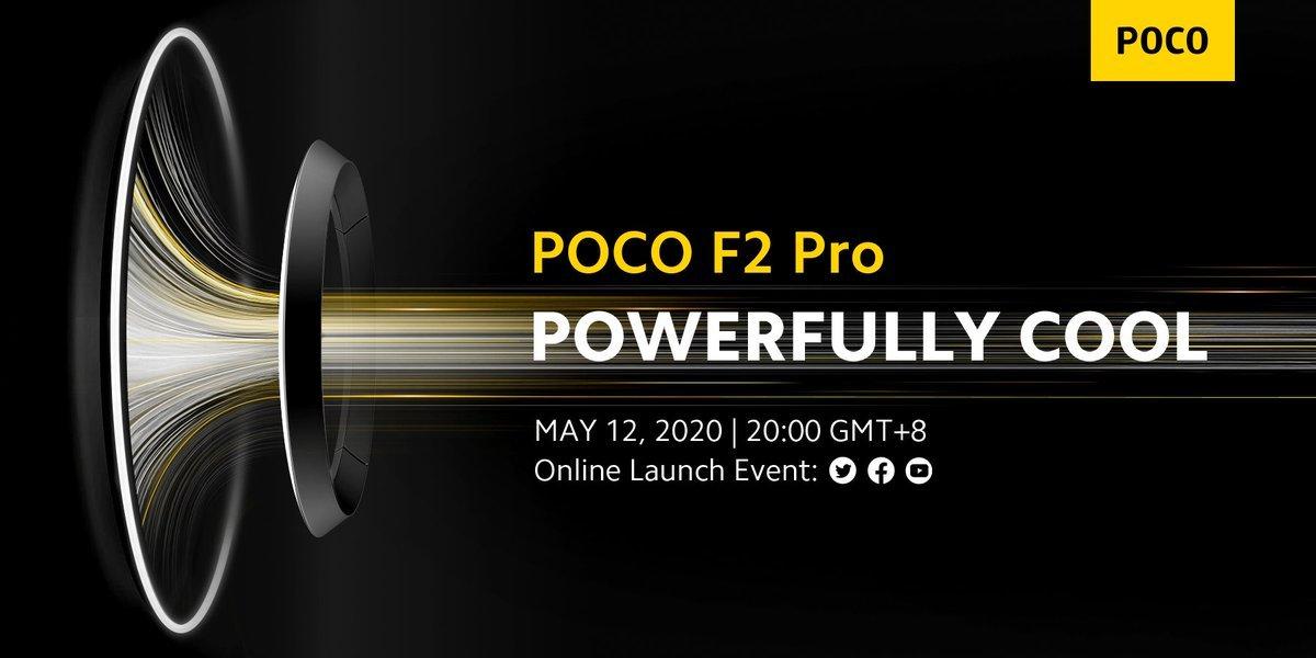 Poco F2 Pro Global Launch Live Updates