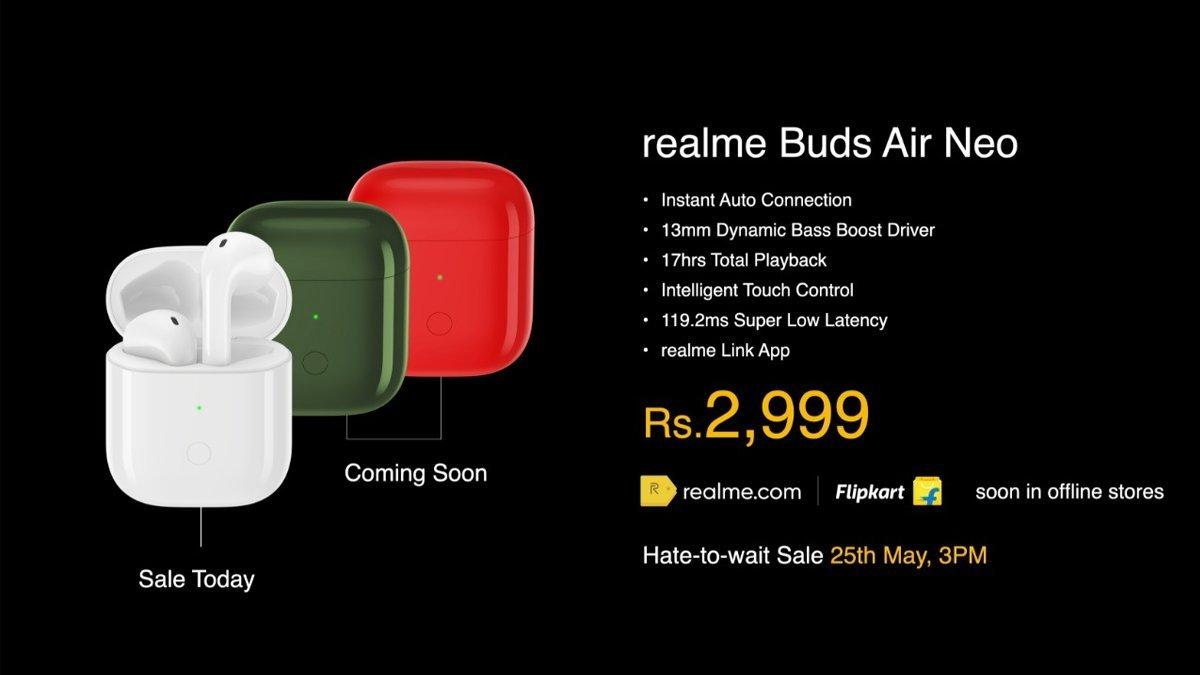 Realme Buds Air Neo India