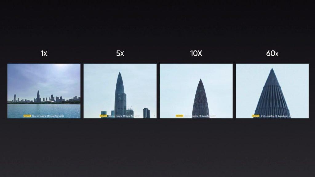 Realme X3 SuperZoom 60x Shot