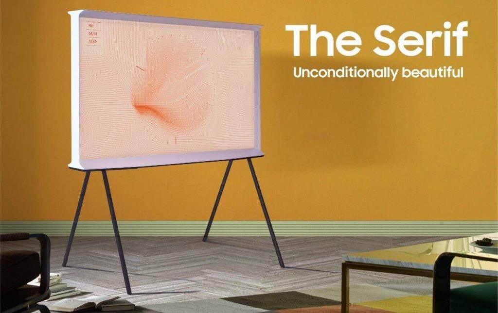Samsung The Serif TV