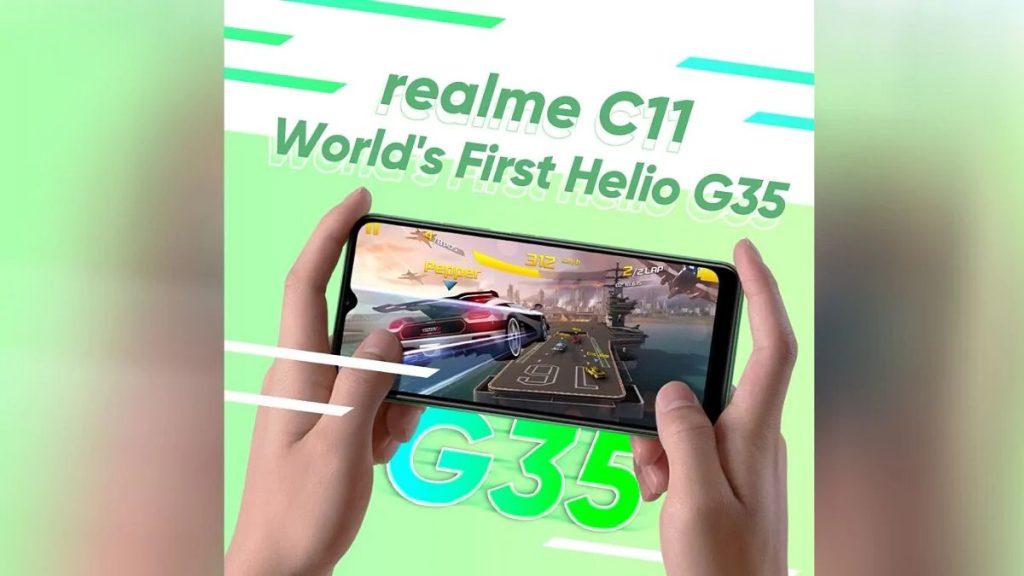 Realme-C11 SoC