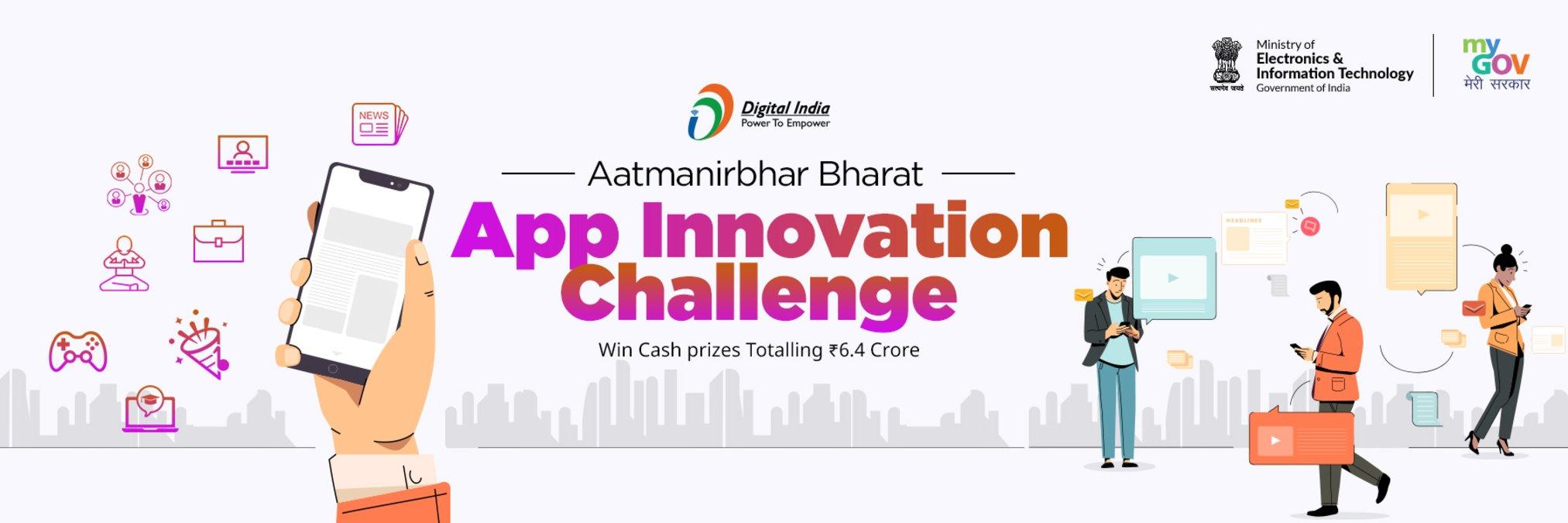 Aatmanirbhar Bharat App Innovation Challenge