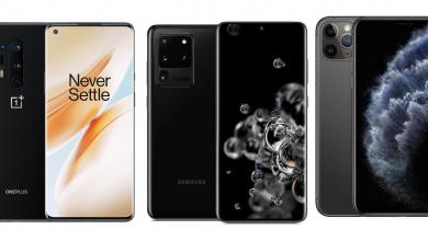 OnePlus 8 Pro vs Samsung Galaxy S20 Ultra vs iPhone 11 Pro