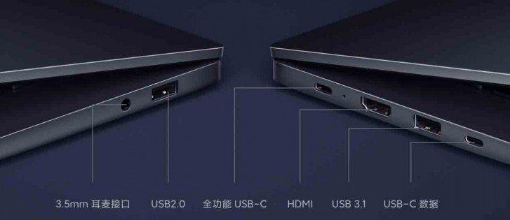 RedmiBook 14 II ports