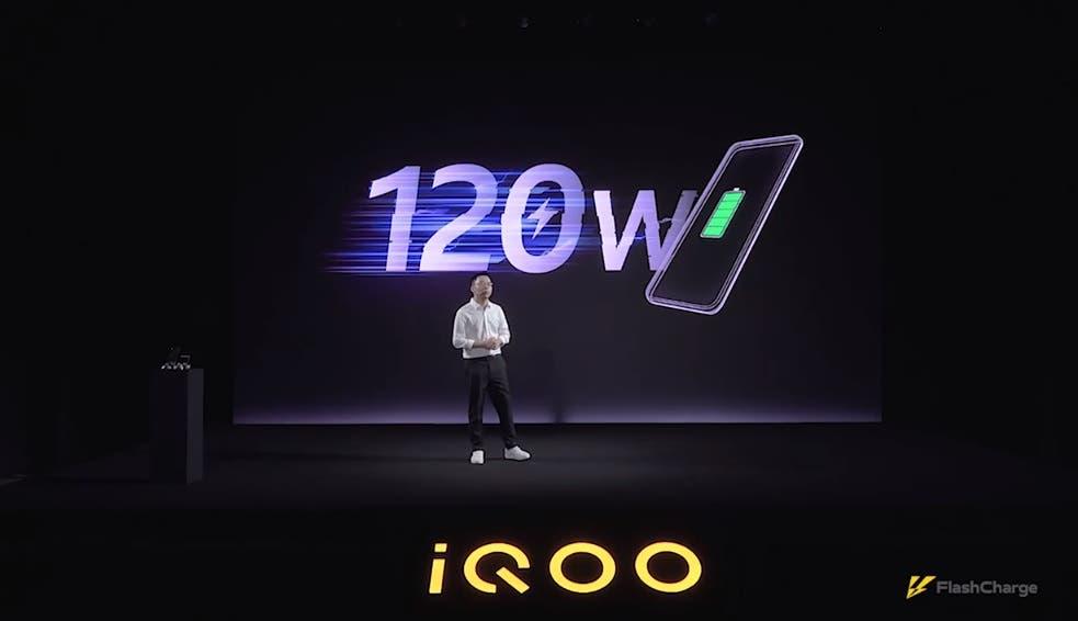 iQOO 120W Super FlashCharge