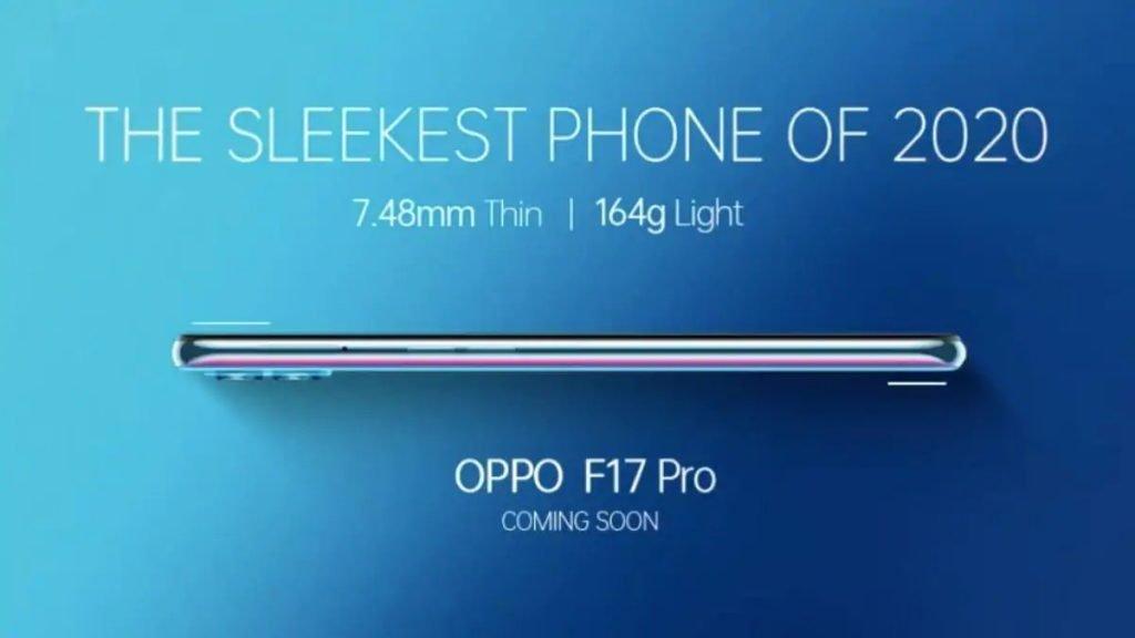 Oppo F17 Pro Sleek