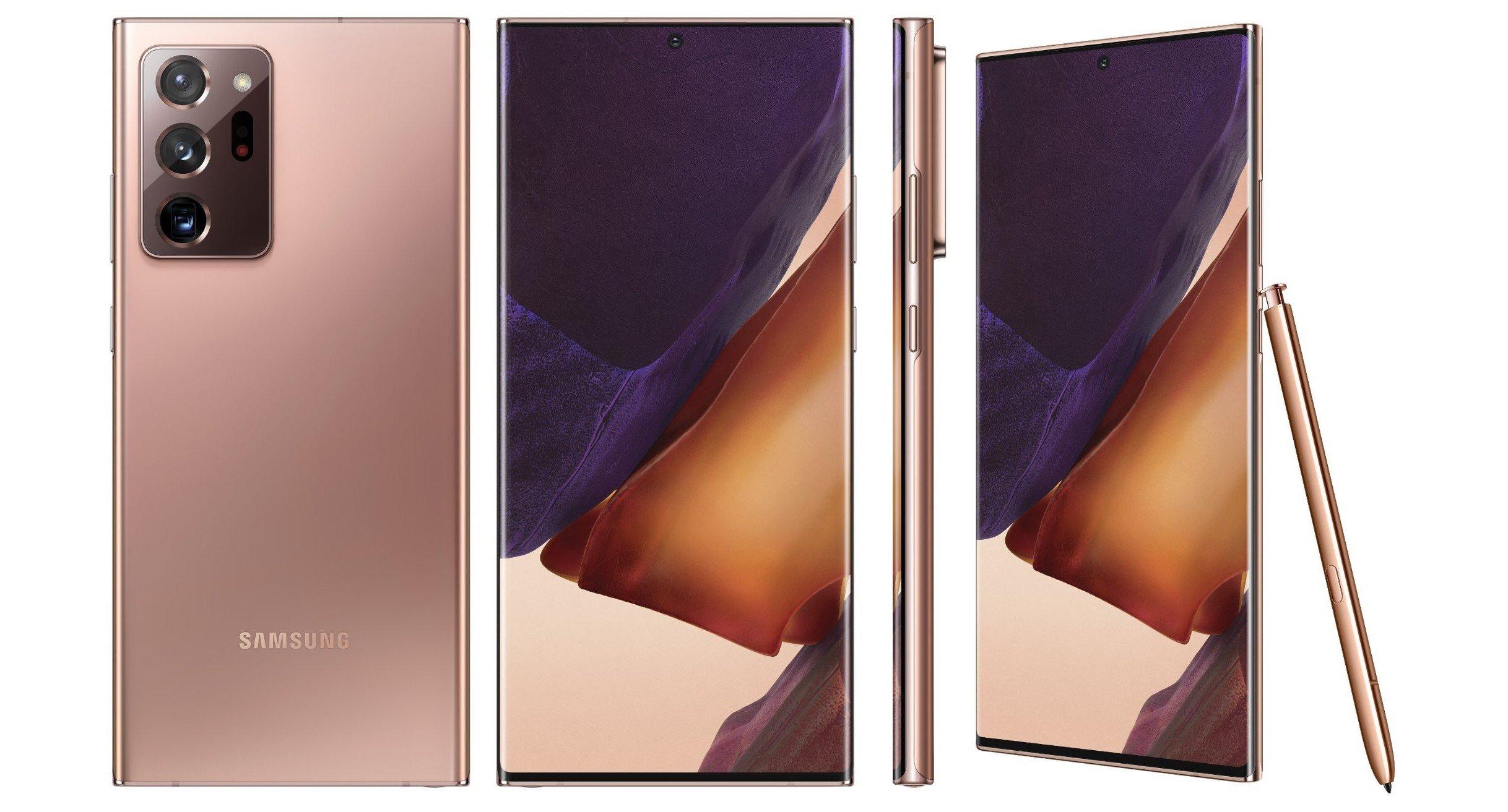 Samsung Galaxy Note20 Ultra Mystic Bronze
