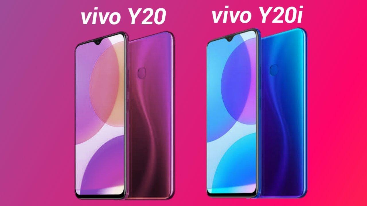 Vivo Y20 and Y20i