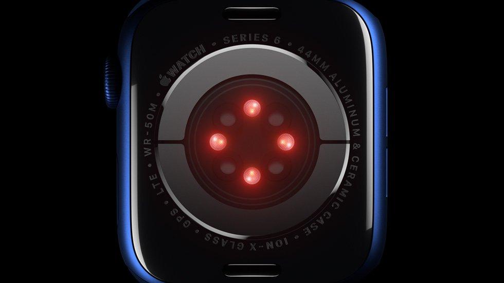Apple Watch Series 6 SpO2 Sensors