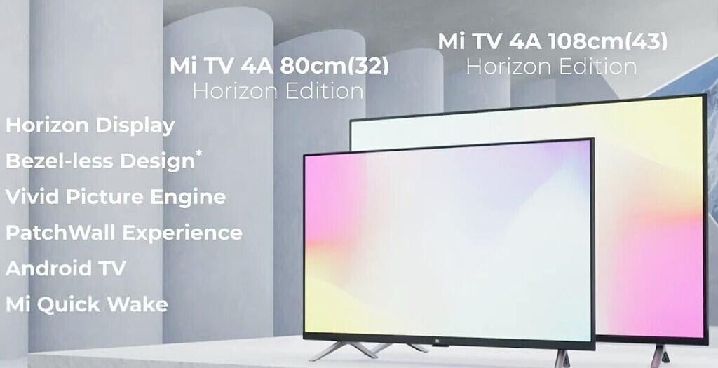 Mi TV 4A Horizon Edition Specifications