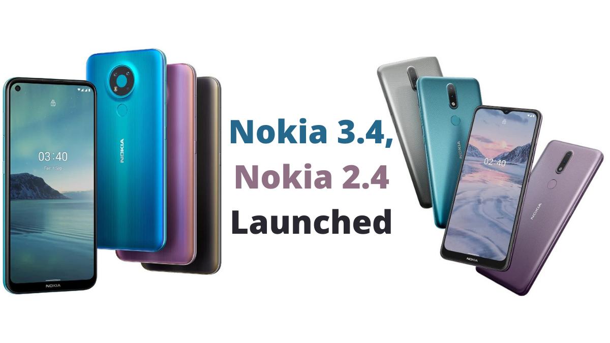Nokia 3.4 Nokia 2.4