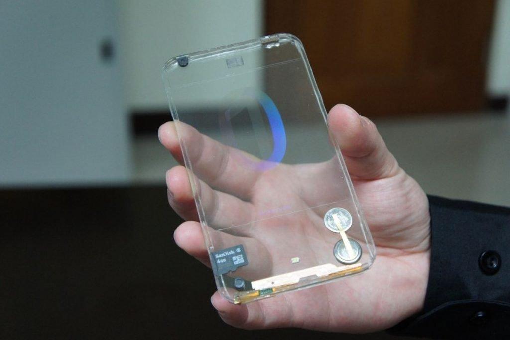 Polytron Transparent Phone
