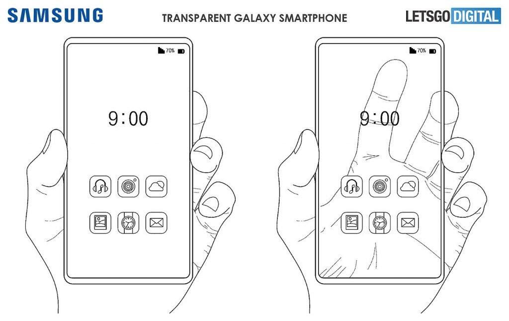 Samsung Transparent Display Patent
