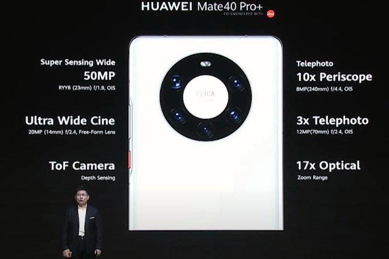 Huawei Mate 40 Pro+ Camera
