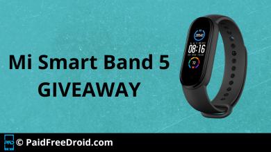 Mi Smart Band 5 Giveaway