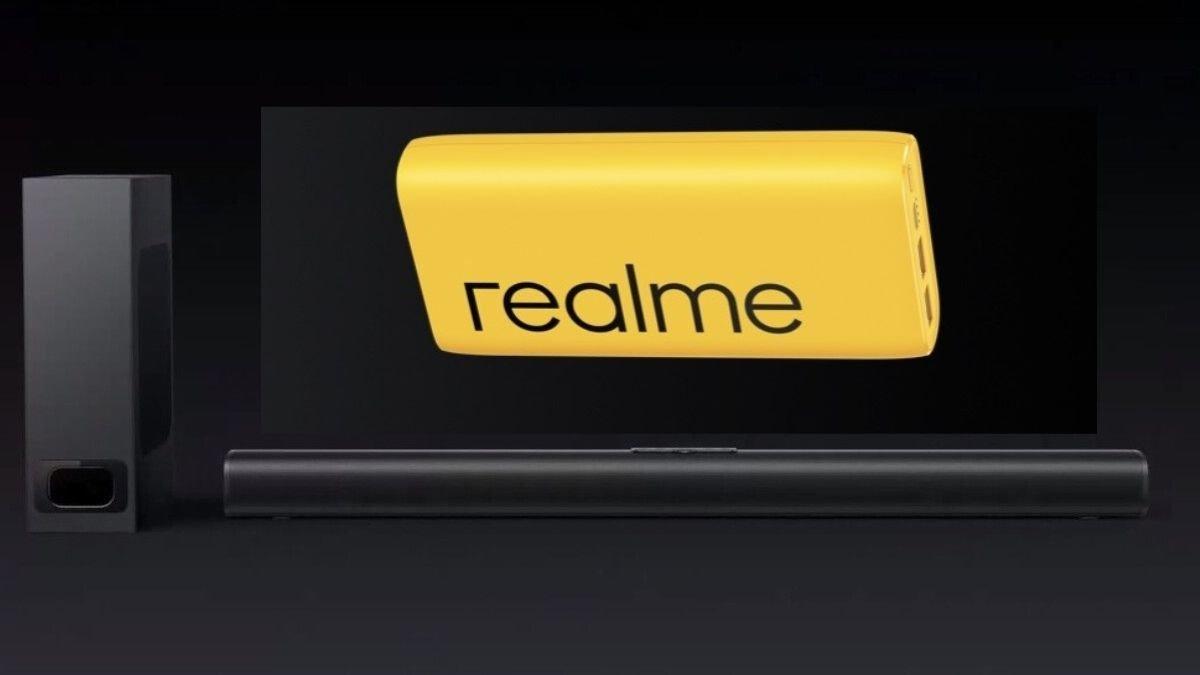 Realme 100W Soundbar Realme 2000mAh Powerbank 2