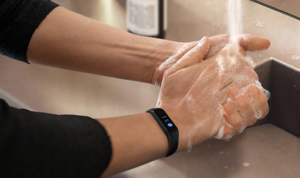 Samsung Galaxy Fit 2 Hand Wash