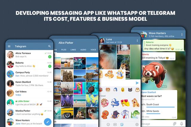 Telegram UI