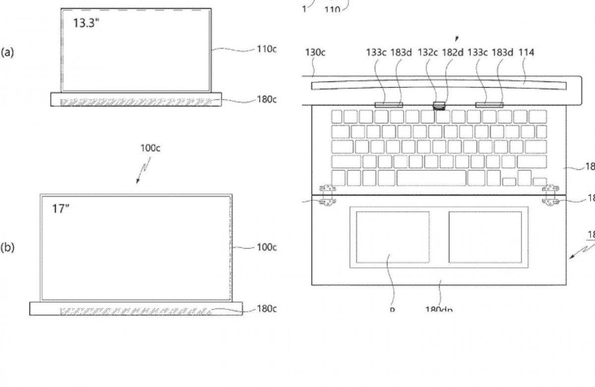LG Rollable Laptop Patent 2