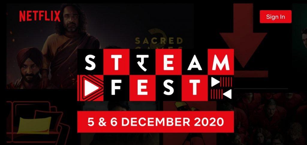 Netflix Free India StreamFest