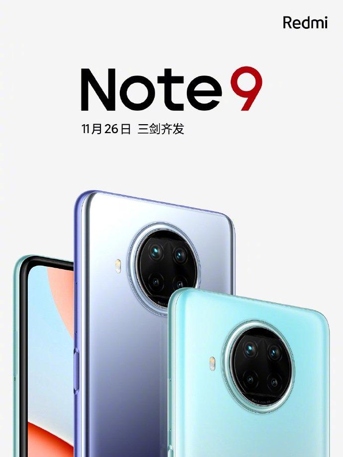 Redmi Note 9 Series China