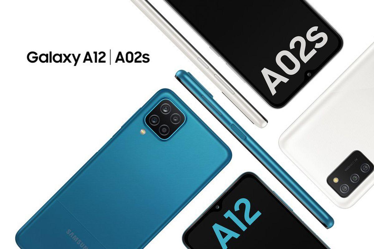 Samsung Galaxy A12 and Samsung Galaxy A02s