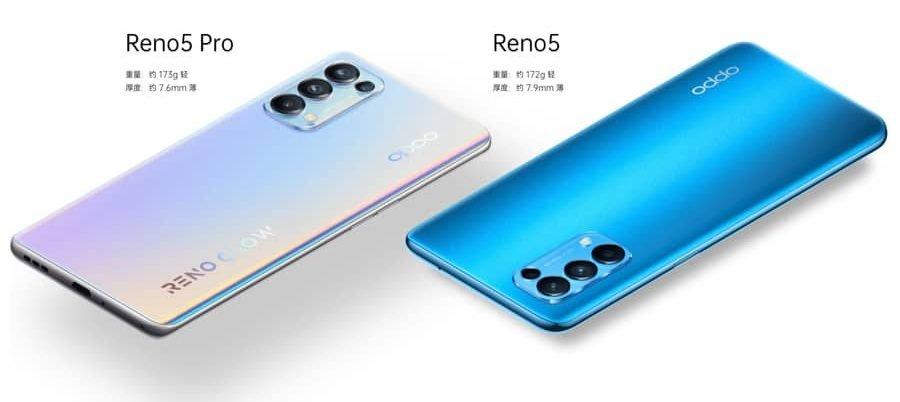 Oppo Reno 5 5G Series