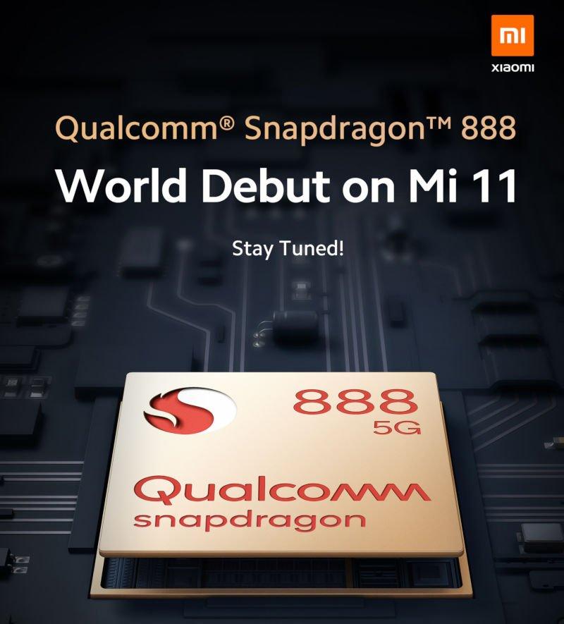 Qualcomm Snapdragon 888 5G Mi 11