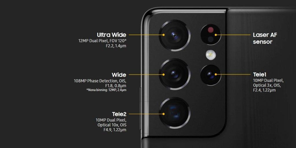 Galaxy S21 Ultra 5G Camera