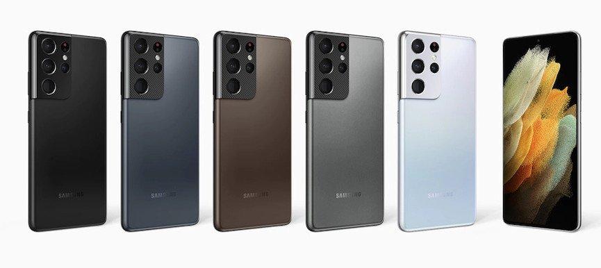 Galaxy S21 Ultra 5G Colors