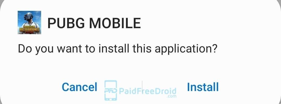 Install PUBG Mobile APK - PaidFreeDroid