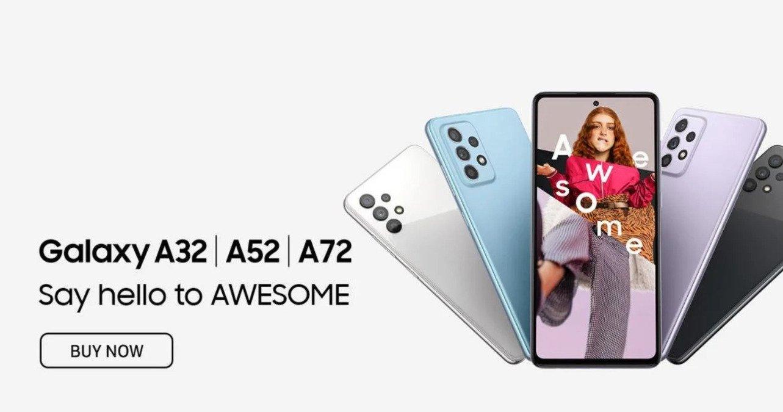 Samsung Galaxy A52 A72
