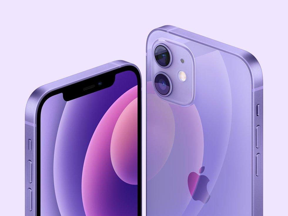 Apple iPhone 12 - iPhone 12 mini Purple